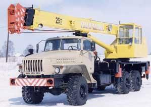 Автокран КС 55713 К-1