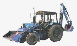 Экскаватор-погрузчик ЭО-2626 Е колесный