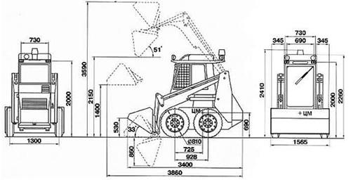 погрузчик пум-500 руководство по эксплуатации img-1